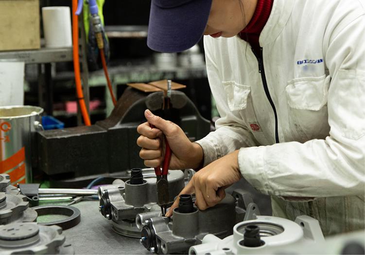 空圧・油圧製品のリビルト